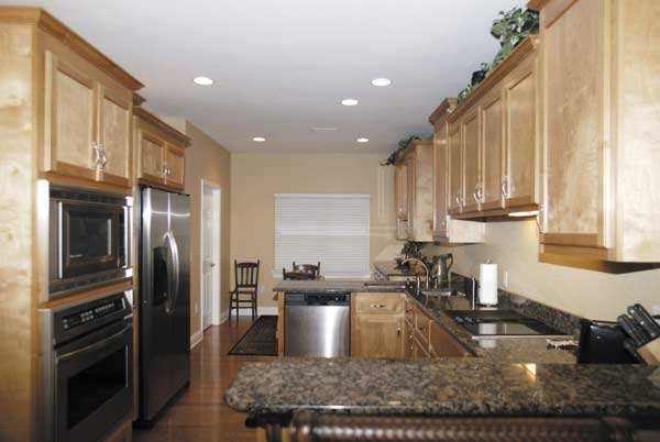 Country House Plan Kitchen Photo 03 - Ellisport Ranch Home 013D-0015 | House Plans and More