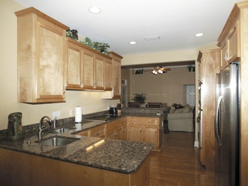 Country House Plan Kitchen Photo 04 - Ellisport Ranch Home 013D-0015 | House Plans and More