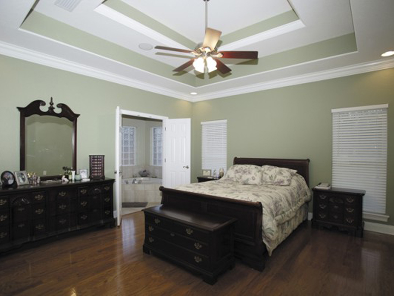Country House Plan Master Bedroom Photo 01 - Ellisport Ranch Home 013D-0015 | House Plans and More