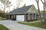 Country House Plan Side Entry Photo 01 - Ellisport Ranch Home 013D-0015 | House Plans and More