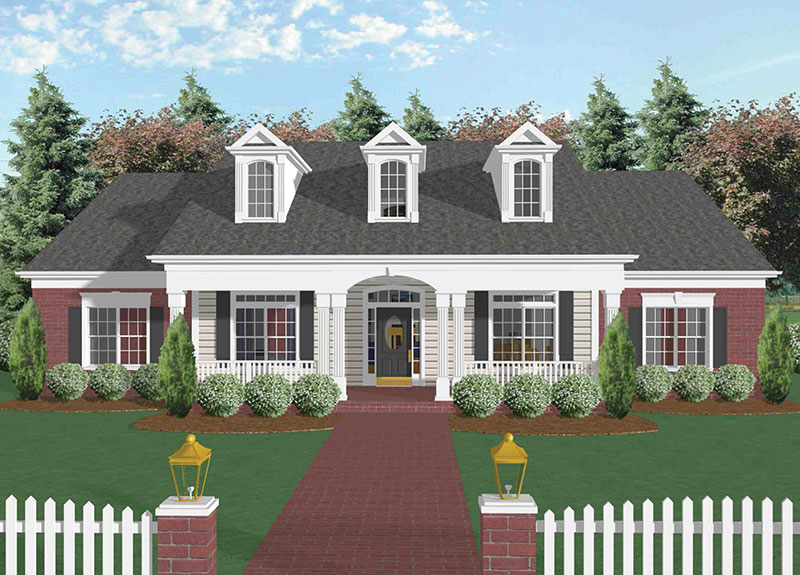 Superb Mannington Southern Home Plan 013D 0022 House Plans And More Home Interior And Landscaping Synyenasavecom
