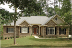 Traditional House Plan Front of Home - Selkirk Country French Home 013D-0053 | House Plans and More