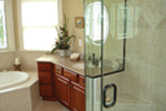 Traditional House Plan Master Bathroom Photo 02 - Selkirk Country French Home 013D-0053 | House Plans and More