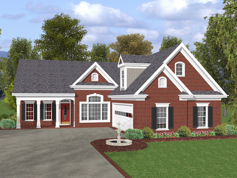 Bowman Park Ranch Home Plan 013D-0135 | House Plans and More on brick prairie style house plans, brick house plans with bonus room, brick house with stone entry, old southern style house plans, colonial house plans, screened porch house plans, traditional house plans, brick carriage house plans, small brick house plans, complete set of house plans, country house plans, brick and stone one story house, luxury ranch home plans, victorian house plans, full brick house plans, brick plantation house plans, contemporary house plans, brick one story house plans, brick barn plans, brick a frame house plans,