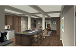 Arts & Crafts House Plan Kitchen Photo 01 -  013D-0204 | House Plans and More