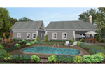Arts & Crafts House Plan Rear Photo 01 -  013D-0204 | House Plans and More