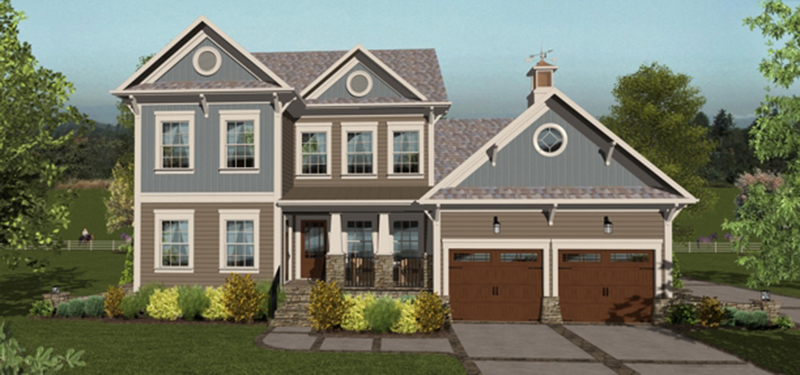 Traditional House Plan Front of Home -  013D-0207 | House Plans and More