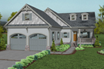 Craftsman House Plan Front of House 013D-0211
