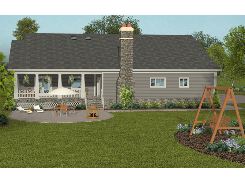 Country House Plan Rear Photo 01 -  013D-0212 | House Plans and More