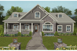 Country House Plan Front of House 013D-0213