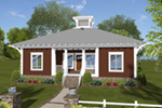 Craftsman House Plan Front of Home - 013D-0216 | House Plans and More