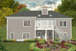 Shingle House Plan Rear Photo 01 - 013D-0226 | House Plans and More