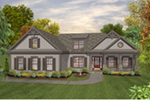 Front of Home - 013D-0228 | House Plans and More