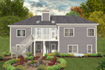 Rear Photo 01 -  013D-0230 | House Plans and More