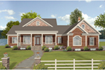 Rustic Home Plan Front of House 013D-0236