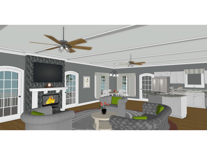 Country House Plan Family Room Photo 01 - 013D-0250 | House Plans and More
