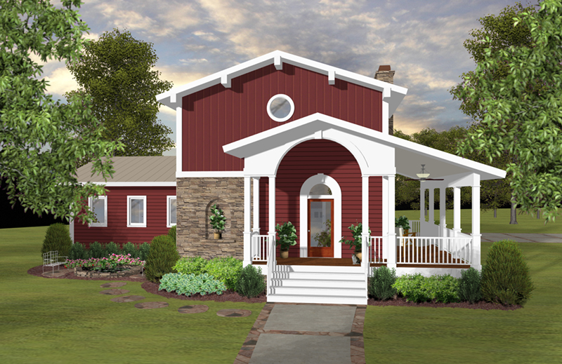 Country House Plan Front of Home - 013D-0250 | House Plans and More
