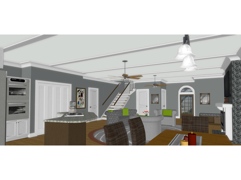 Country House Plan Great Room Photo 01 - 013D-0250 | House Plans and More
