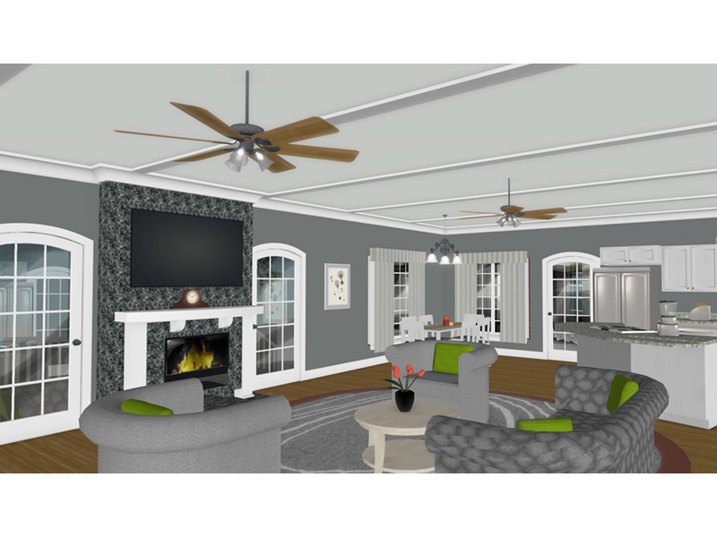 Country House Plan Great Room Photo 02 - 013D-0250 | House Plans and More