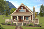 Arts & Crafts House Plan Front of Home - 013D-0252 | House Plans and More