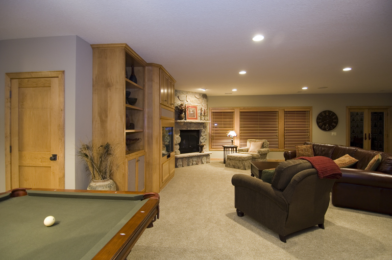 Traditional House Plan Basement Photo 02 - Winborn Luxury Home 013S-0001 | House Plans and More