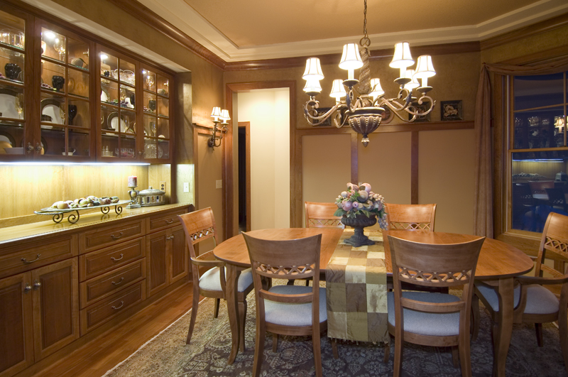Traditional House Plan Dining Room Photo 01 - Winborn Luxury Home 013S-0001 | House Plans and More