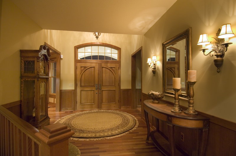 Traditional House Plan Foyer Photo - Winborn Luxury Home 013S-0001 | House Plans and More
