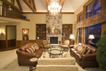 Traditional House Plan Great Room Photo 03 - Winborn Luxury Home 013S-0001 | House Plans and More