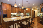 Traditional House Plan Kitchen Photo 01 - Winborn Luxury Home 013S-0001 | House Plans and More
