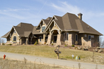 Tudor House Plan Front Photo 01 - Watson Manor Luxury Home 013S-0002 | House Plans and More