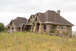 Tudor House Plan Front Photo 04 - Watson Manor Luxury Home 013S-0002 | House Plans and More