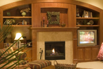 Prairie Style Floor Plan Family Room Photo 01 - Warsaw Luxury Home 013S-0003 | House Plans and More