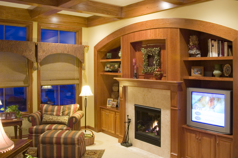 Prairie Style Floor Plan Family Room Photo 02 - Warsaw Luxury Home 013S-0003 | House Plans and More