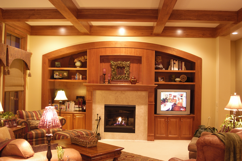 Prairie Style Floor Plan Family Room Photo 03 - Warsaw Luxury Home 013S-0003 | House Plans and More