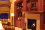 Prairie Style Floor Plan Fireplace Photo 01 - Warsaw Luxury Home 013S-0003 | House Plans and More