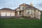 Prairie Style Floor Plan Front Photo 01 - Warsaw Luxury Home 013S-0003 | House Plans and More