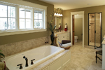 Prairie Style Floor Plan Master Bathroom Photo 01 - Ingrams Mill Luxury Home 013S-0004 | House Plans and More