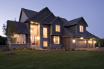 Tudor House Plan Front of Home - Crenshaw Point Luxury Home 013S-0005 | House Plans and More
