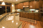 Tudor House Plan Kitchen Photo 01 - Crenshaw Point Luxury Home 013S-0005 | House Plans and More