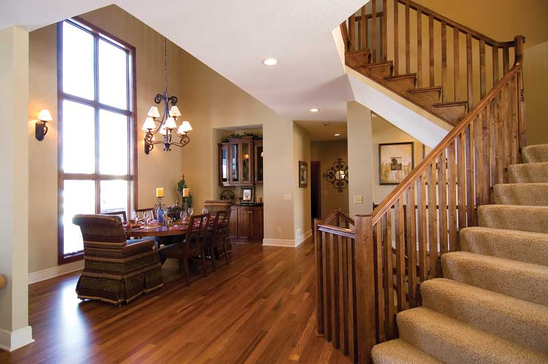 Arts & Crafts House Plan Stairs Photo 01 - Strayhorn Luxury Home 013S-0006 | House Plans and More