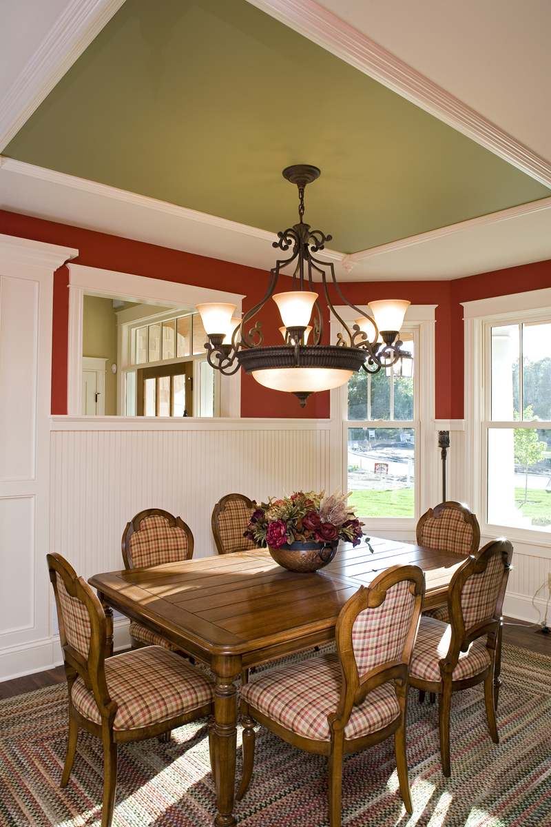 Luxury House Plan Dining Room Photo 01 - Clarksdale Luxury Home 013S-0008 | House Plans and More