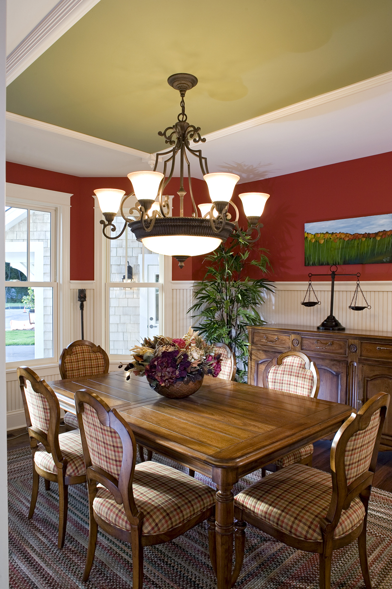 Luxury House Plan Dining Room Photo 03 - Clarksdale Luxury Home 013S-0008 | House Plans and More