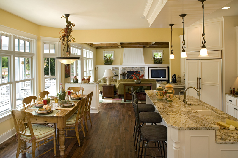 Luxury House Plan Kitchen Photo 01 - Clarksdale Luxury Home 013S-0008 | House Plans and More