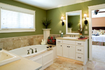 Luxury House Plan Master Bathroom Photo 01 - Clarksdale Luxury Home 013S-0008 | House Plans and More
