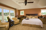 Luxury House Plan Master Bedroom Photo 01 - Clarksdale Luxury Home 013S-0008 | House Plans and More