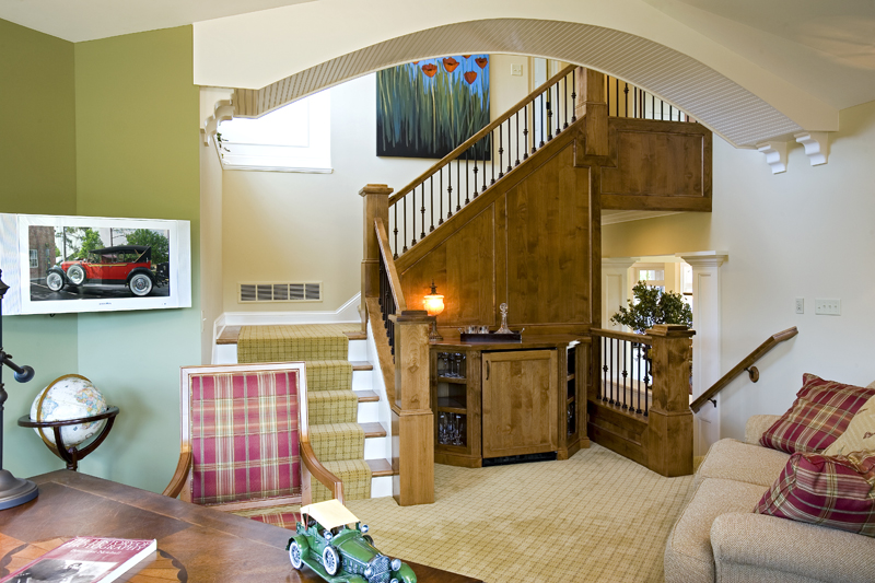 Luxury House Plan Stairs Photo - Clarksdale Luxury Home 013S-0008 | House Plans and More
