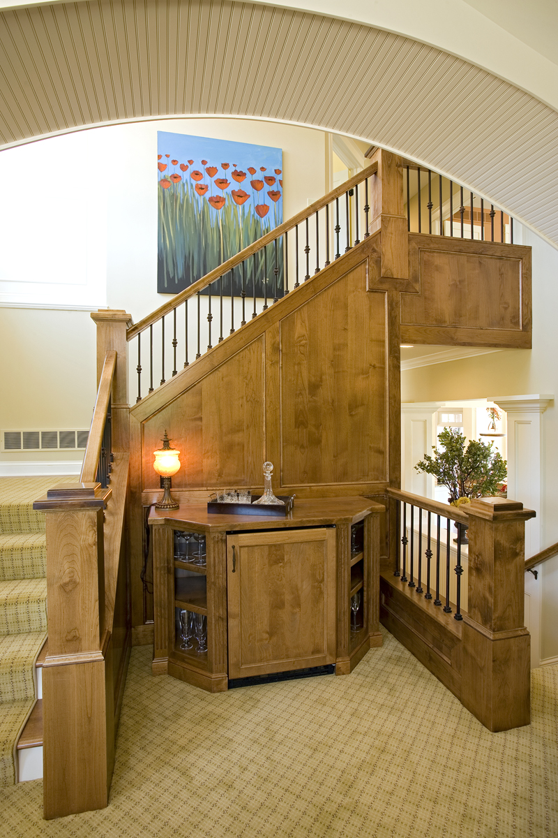 Luxury House Plan Stairs Photo 02 - Clarksdale Luxury Home 013S-0008 | House Plans and More