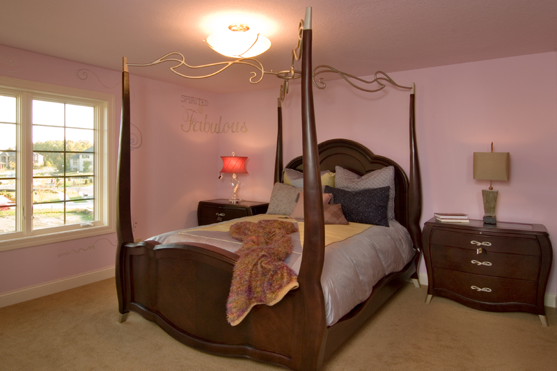 Craftsman House Plan Bedroom Photo 03 - Waterstone Luxury Home 013S-0009   House Plans and More