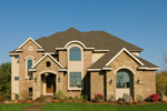 Craftsman House Plan Front Photo 01 - Waterstone Luxury Home 013S-0009   House Plans and More