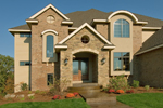 Craftsman House Plan Front Photo 02 - Waterstone Luxury Home 013S-0009   House Plans and More